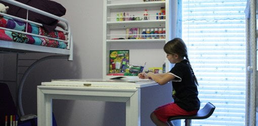 do it how to build a child s wall mounted folding desk today s