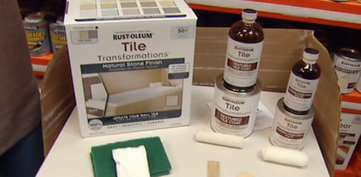 Rust Oleum Tile Transformations Coating Kit Today S
