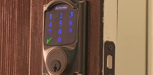 Keyless Entry Touchscreen Deadbolt from Schlage.
