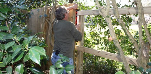 How To Build A Wood Privacy Fence In Your Yard Today S