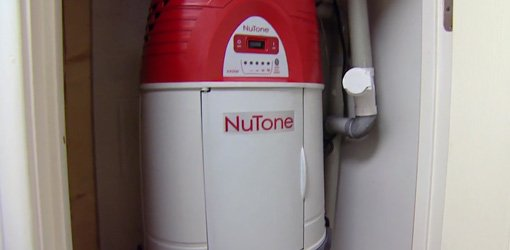 NuTone central vacuum system for home.