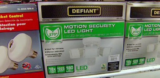 Defiant Motion Activated Led Security Light Today S