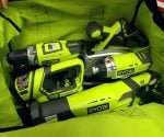 Ryobi Cordless Tool Ultimate Combo Kit in carrying bag.