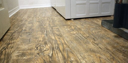 New Laminate Floor In Laundry Room