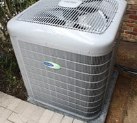 Carrier Infinity heat pump.