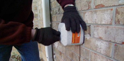 Install foam covers over outdoor water spigots to prevent freezing.