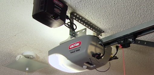 Genie garage door opener.