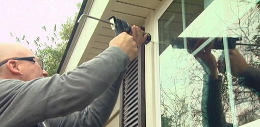 Caulking around a window. & Insulating Windows and Doors from the Inside Out | Todayu0027s Homeowner