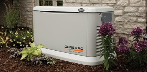 Generac whole house standby generator.
