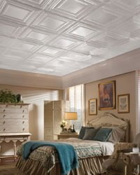 Armstrong Metallaire ceiling.
