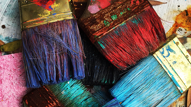 How to Clean Hardened Paintbrushes Naturally | Today's Homeowner