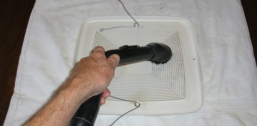 How To Clean A Bathroom Exhaust Vent Fan Todays Homeowner - Cleaning bathroom vent fan
