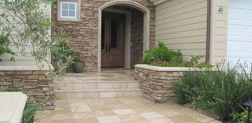 Installing Tile Outside On A Concrete Porch Or Patio Todays Homeowner - Cost to lay outdoor tiles