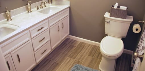 Perfect Updated family bathroom after remodeling