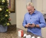 Danny Lipford controlling Christmas lights from smartphone.