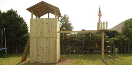 How To Build An Outdoor Wood Playset Today S Homeowner Page 34