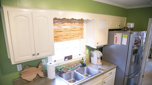 How to Remove Furr Down Kitchen Cabinets
