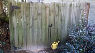 Gate kits make repairing a sagging gate a straightforward DIY project.