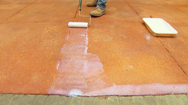 Sealing concrete