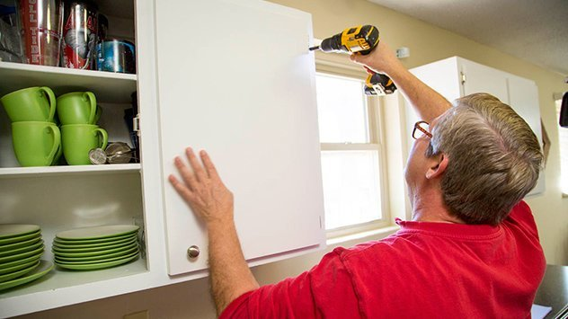 How to Reface Kitchen Cabinets Todays Homeowner