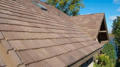 Shake roofing mastering roof inspections wood shakes and for Davinci roofscapes cost