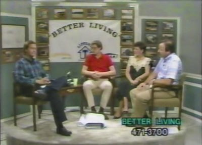 Danny as host of Better Living