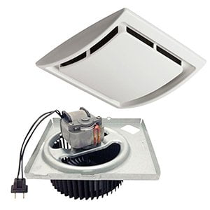 Nutone quickit bath fan upgrade kit today 39 s homeowner for Nutone bathroom exhaust fan installation
