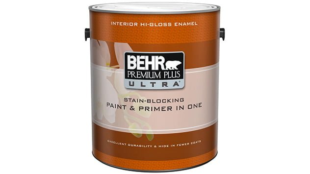 behr premium plus ultra interior flat enamel paint primer in one. Black Bedroom Furniture Sets. Home Design Ideas