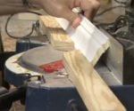 Trick for Cutting Crown Molding on Miter Saw