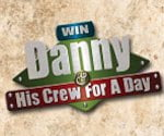 Win Danny and His Crew for a Day Contest logo