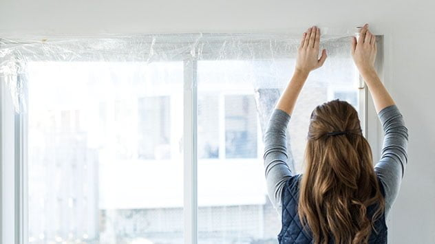 How to Install Plastic Window Insulation Kits | Today's Homeowner