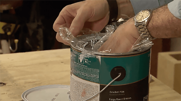 How to Preserve Paint with Plastic Wrap | Today's Homeowner