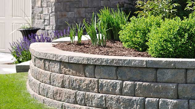 How to build a block retaining wall today 39 s homeowner - How to build a garden retaining wall ...