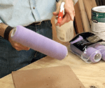How to Condition A New Paint Roller Cover