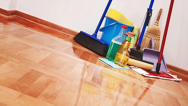 clean-house-floor