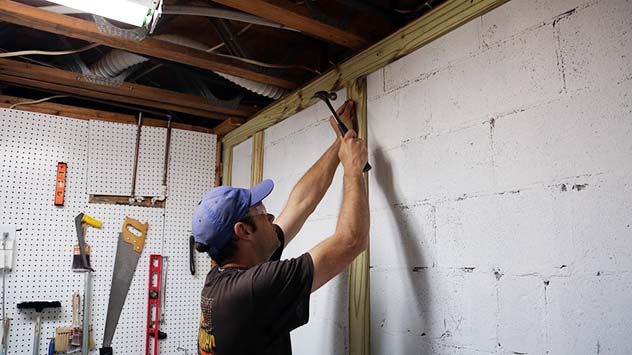 How to Finish a Basement Wall | Today's Homeowner - Page 2