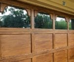 Give Your Garage Door a Faux-Wood Finish