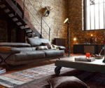 industrial design, living room
